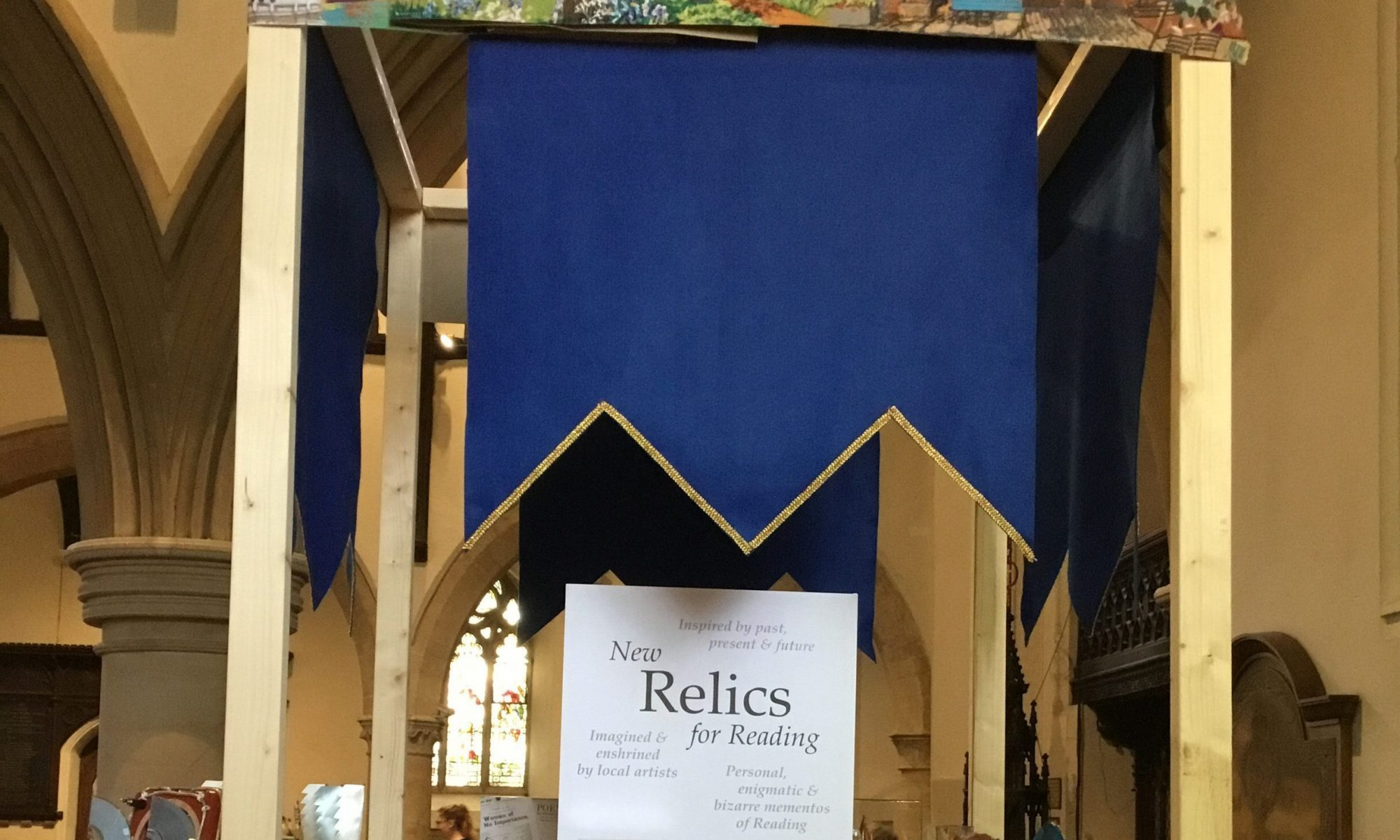 New relics for Reading reliquary 2018