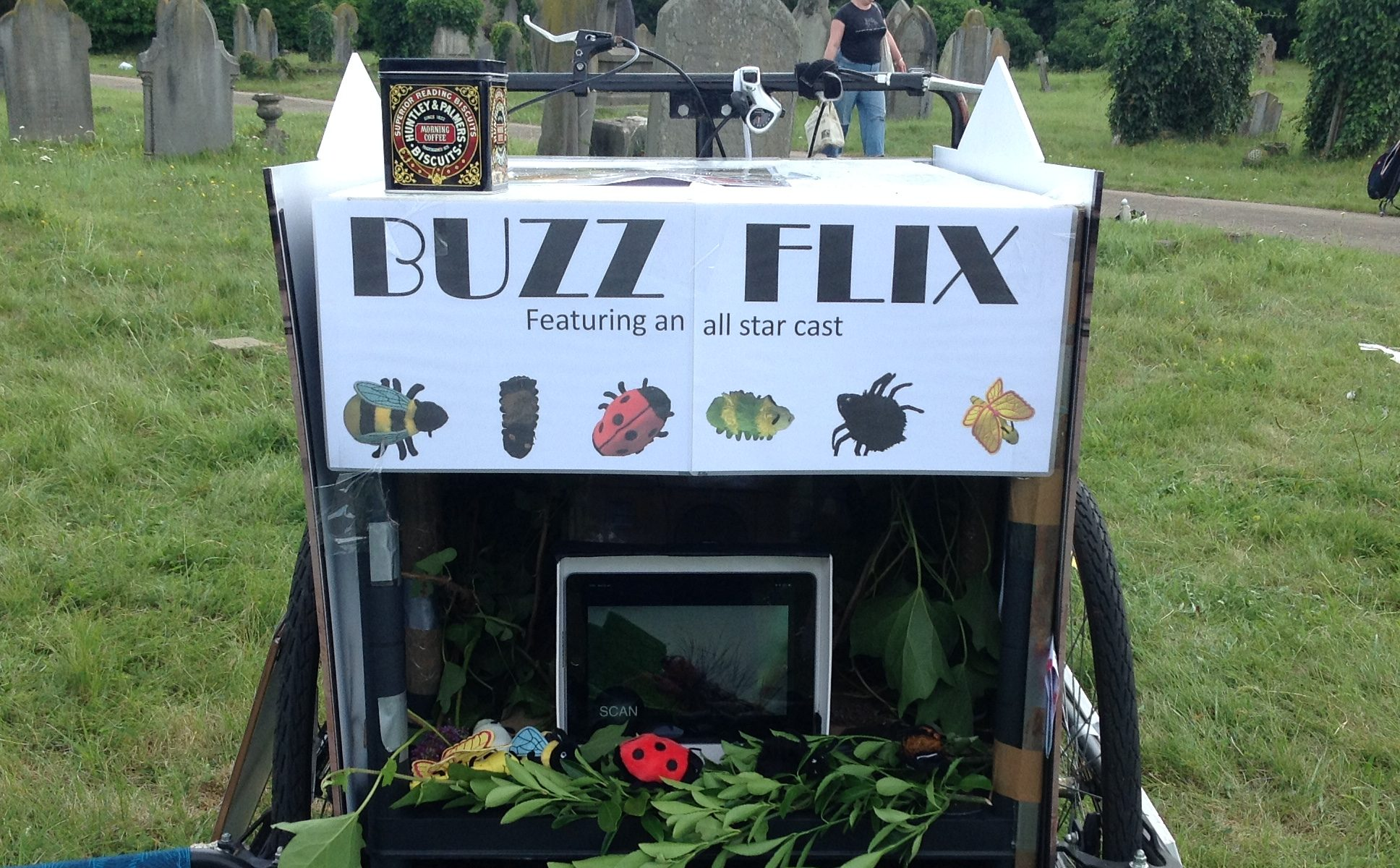 Tricycle being Buzz Flix